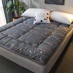 加厚床垫软垫榻榻米床褥子单人0.9学生宿舍双人海绵垫被地铺睡垫