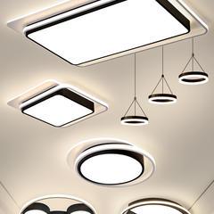 客厅灯2019年新款灯具套餐组合简约现代三室两厅创意卧室灯吸顶灯