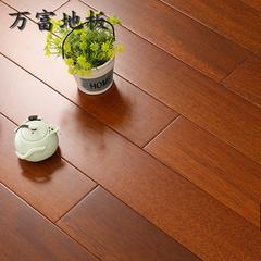 纯实木进口圆盘豆印尼印茄木二翅豆龙凤檀锁扣地热暖地板厂家直销