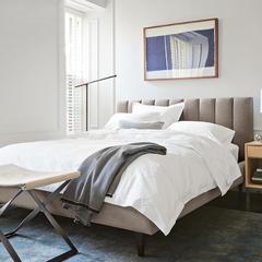 北欧风格1.8可拆洗双人主卧床简约现代高箱气动储物1.5米布艺婚床